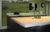 Tiskane foto tapete v kuhinji